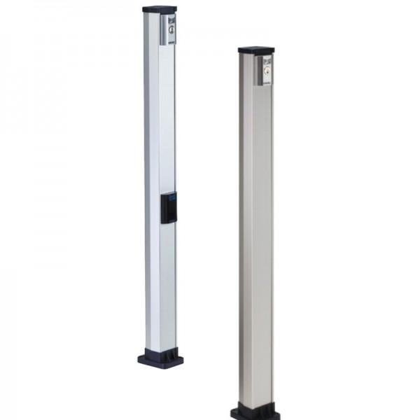 Стойка для установки устройств безопасности и управления FAAC (высокая двойная 1115 мм.)