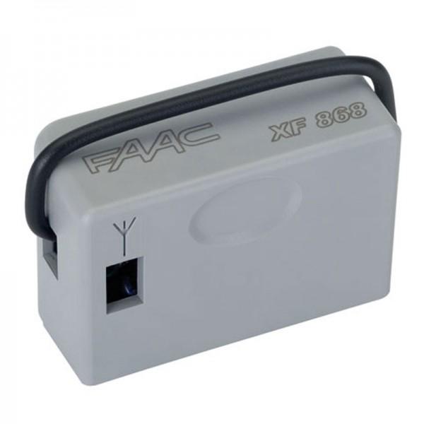Радиоприемник 2-канальный FAAC XF 868 МГц