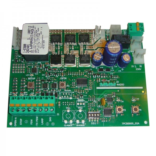 Плата управления FAAC E 600 встраиваемая в привод D600