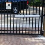 Привод для распашных ворот FAAC 400 CBAC