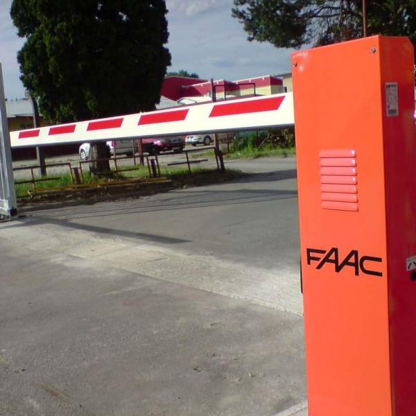 Комплект шлагбаума FAAC 620 RPD для проезда шириной до 4 метров