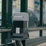 Привод для откатных ворот FAAC 746 ER + монтажная пластина