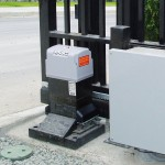 Привод для откатных ворот FAAC 844 ER+монтажная пластина