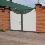 Распашные ворота DoorHan 3500x2500 мм