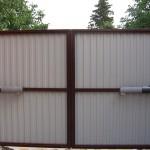 Распашные ворота 3000x2250 мм (3х2,25 метра)