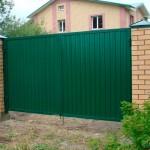 Распашные ворота 3000x2500 мм (3х2,5 метра)