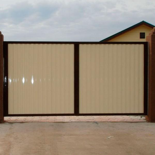 Распашные ворота 4000x2250 мм (4х2,25 метра)