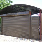 Роллетные ворота Alutech 3000x2000 мм