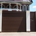 Роллетные ворота Alutech 2500x2750 мм