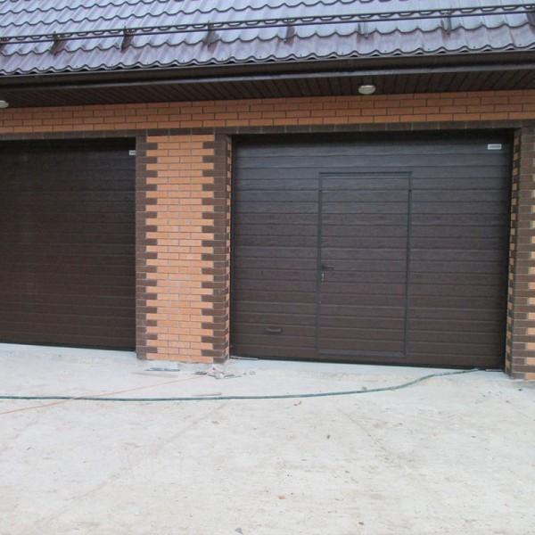 Секционные ворота Alutech CLASSIC 1875x2250 мм