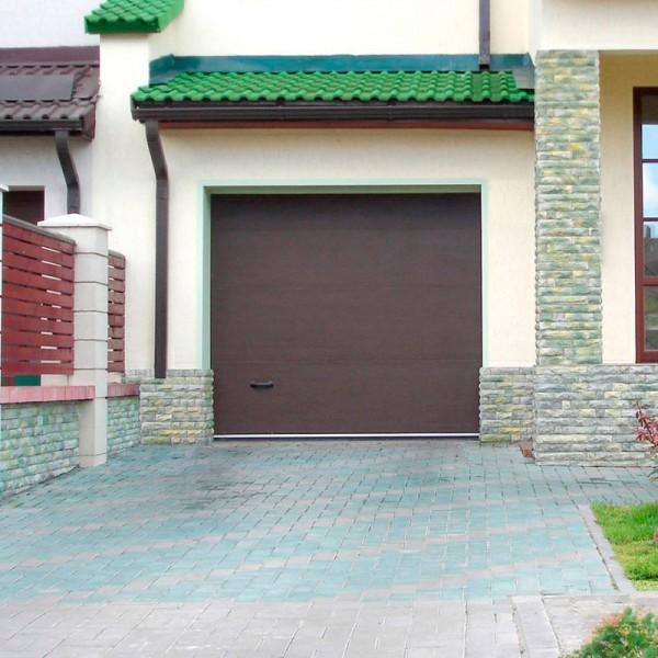 Секционные ворота Alutech CLASSIC 1875x2710 мм